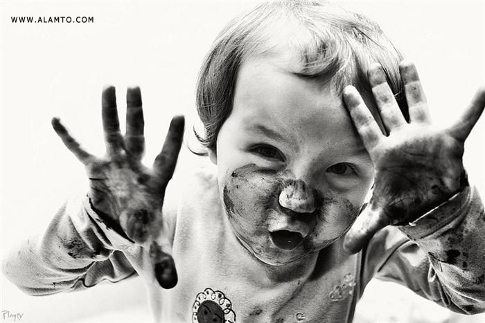 تصاویر فوق العاده زیبا و جدید از کودکان - Www.Alamto.Com