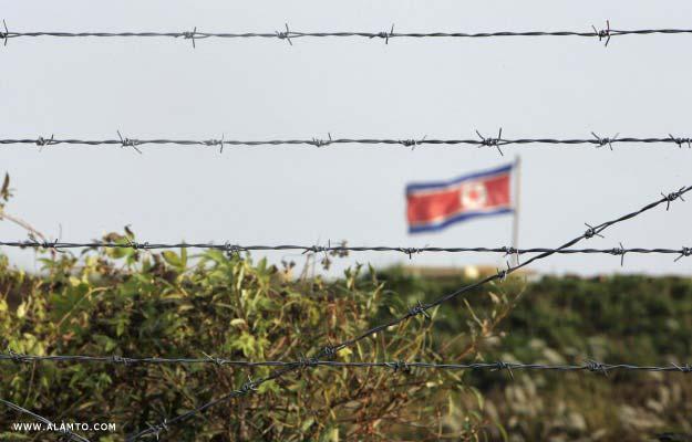 مرز کره شمالی و چین. مرز مشترک 1400 کیلومتر