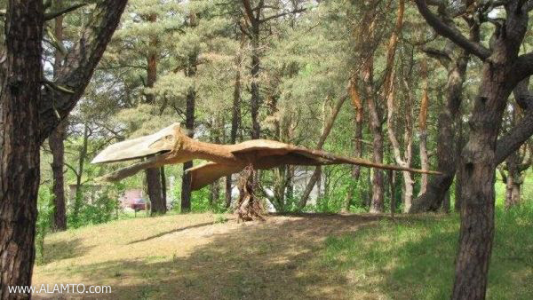 پارک دایناسورها در لهستان + تصاویر - www.Alamto.Com