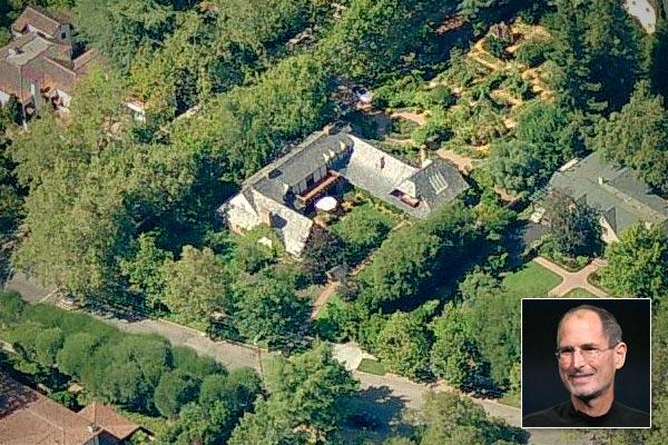 عکس منزل شخصی استیو جابز، اپل