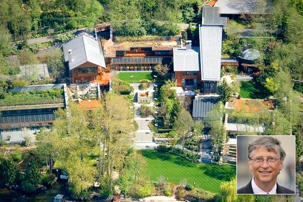 عکس منزل شخصی بیل گیتس، مایکروسافت