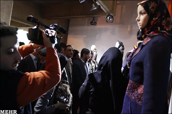 افتتاح نمایشگاه مد و مانتو / گزارش تصویری