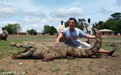 شهر پاگا پناهگاه یک تمساح مقدس / تصاویر
