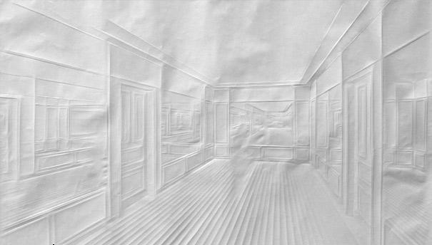 خلق آثار دیدنی فقط با تا کردن کاغذ + عکس