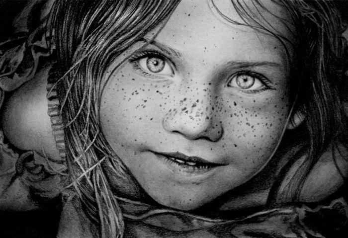 نقاشی های فوق العاده زیبا و باورنکردنی با مداد