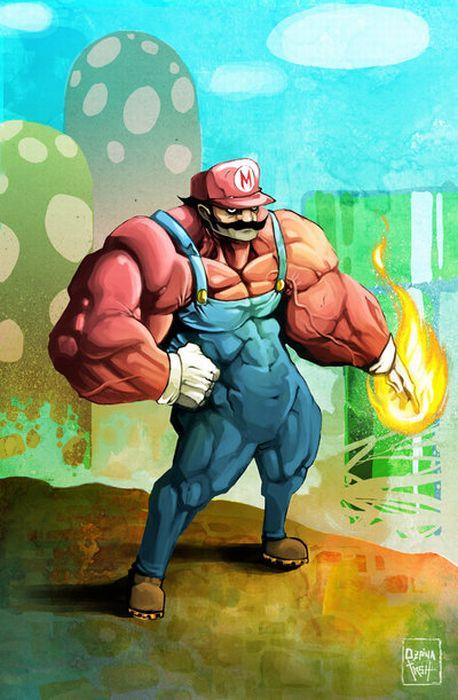 عکس بازی برادران سوپر ماریو