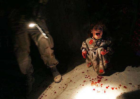 آسیب رساندن به کودکان/عراق  Jun 18/2005