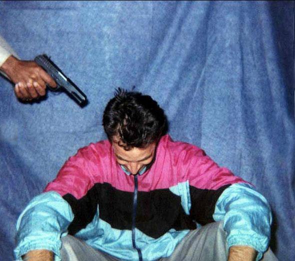 آخرین لحضات زندگی دانیل پیارل عکاس پاکستانی  Jun 30/2002
