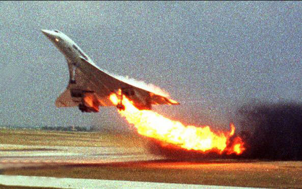 پایان کار هواپیما کنکورد  Jul 25/2000