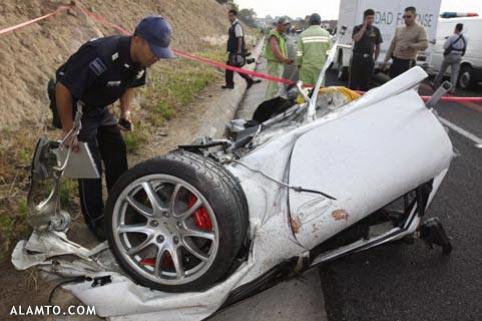 عکسهایی از تصادف های وحشتناک و دلخراش