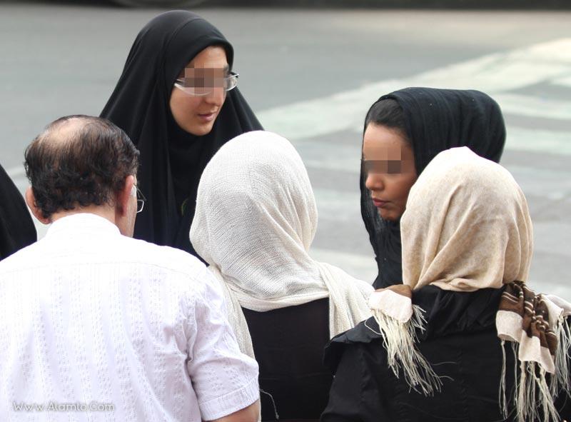 عکس های جدید مبارزه با بدحجابی