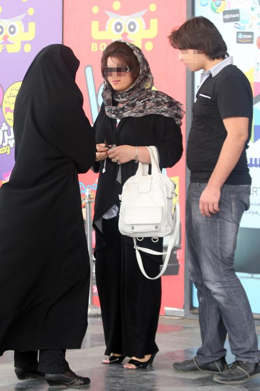 عکس جدید مبارزه با بدحجابی