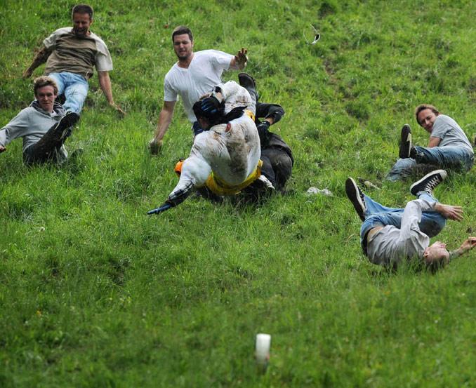 مسخره ترین مسابقات دنیا + عکس