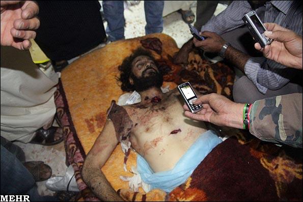 جنازه معمر قذافی