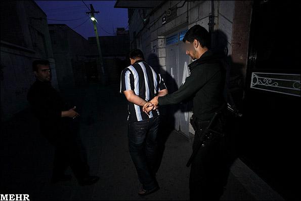 تصاویر اجرای طرح دستگیری سارقین و فروشندگان مواد مخدر | javancamp.com