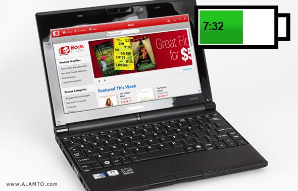 عکس لپ تاپ Toshiba Mini NB505