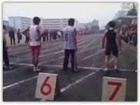 کلیپ خنده دار مسابقه دو سرعت