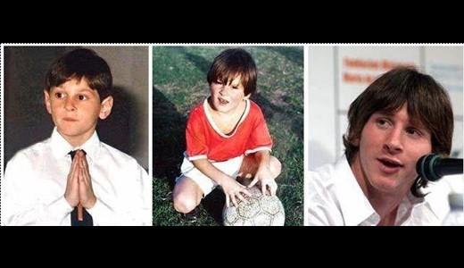 عکس کودکی فوتبالیست های مشهور - www.Alamto.Com