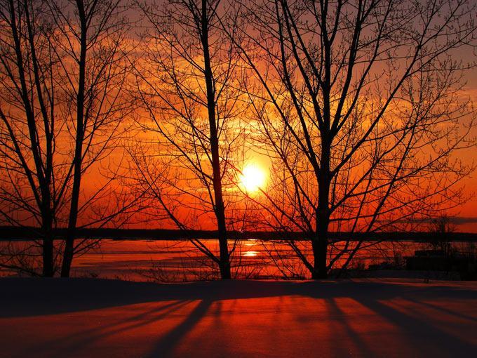 عکس های فوق العاده زیبا از طلوع و غروب خورشید | www.Alamto.Com