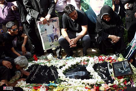 مراسم چهلمین روز درگذشت مرحوم ناصر حجازی (تصاویر)