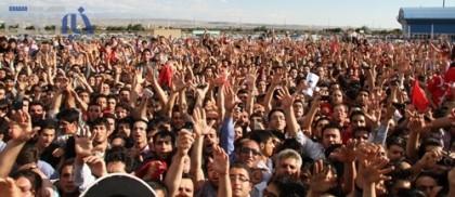گزارش تصویری: استقبال بی نظیر تبریزی ها از امیر قلعه نویی