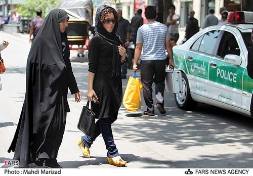 عکس هایی از مبارزه با بدحجابی در تهران!   www.Alamto.Com
