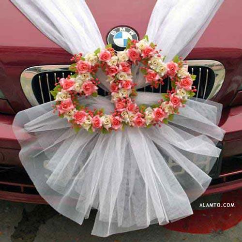 مدلهای تزیین ماشین عروس