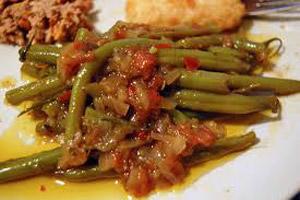 آموزش پخت خورش لوبیا سبز با سویا