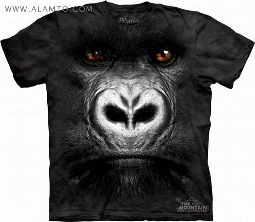 مدل تی شرتای قشنگتر با طرح صورت حیوانات