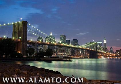 عکس پل بروکلین - آمریکا