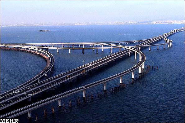 تصاویر طولانی ترین پل دنیا/ راه اندازی پلی به طول 42 کیلومتر