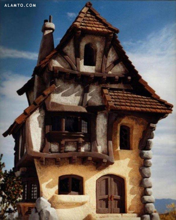 خونه های عجیب و رویایی