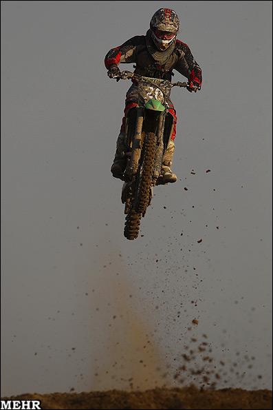 عکسای مسابقات موتور کراس قهرمانی آسیا