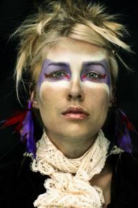 نقاشیای فوق العاده قشنگتر روی صورت