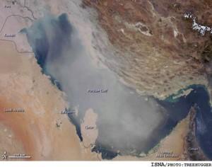 جزیره ای به بزرگی بریتانیا در اعماق خلیج فارس مدفونه!
