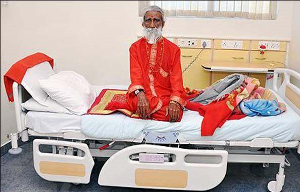 مردی که ۷۰ سال بدون خوردن آب و غذا زنده مونده !!