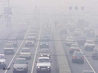 فوت ۳۶۴۱ نفر بر اثر آلودگی هوای تهران