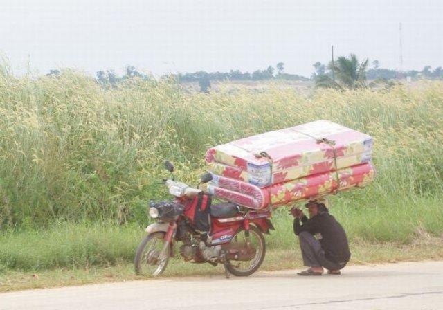 عکسای خنده دار از حمل و نقلای احمقانه